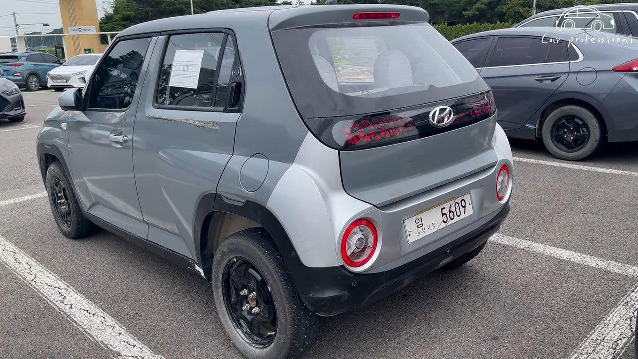 Ảnh thực tế Hyundai Casper 2022 SUV cỡ nhỏ đấu Kia Sonet sắp ra mắt Việt Nam a5