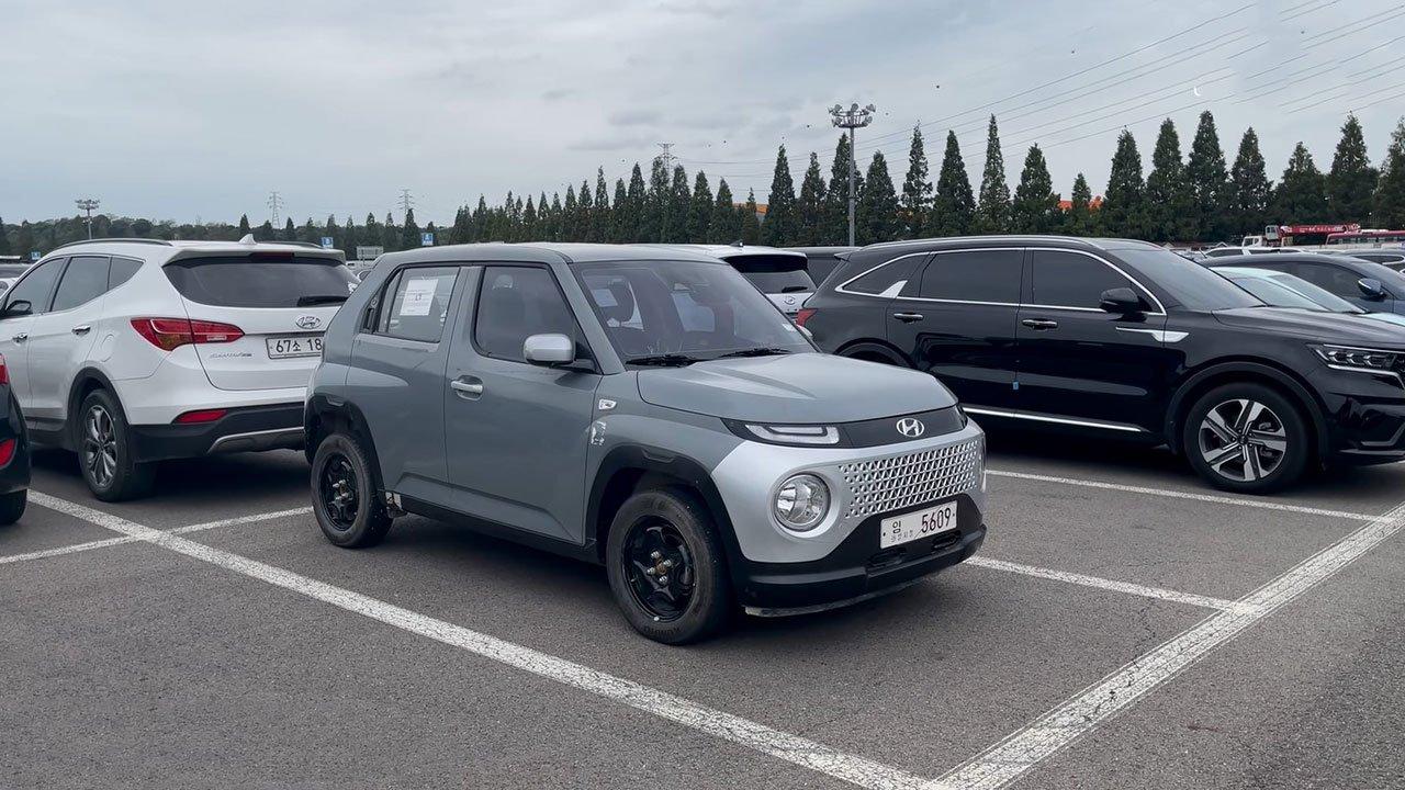 Ảnh thực tế Hyundai Casper 2022 SUV cỡ nhỏ đấu Kia Sonet sắp ra mắt Việt Nam a1