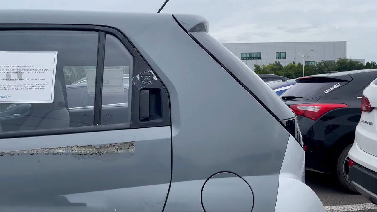 Ảnh thực tế Hyundai Casper 2022 SUV cỡ nhỏ đấu Kia Sonet sắp ra mắt Việt Nam a4