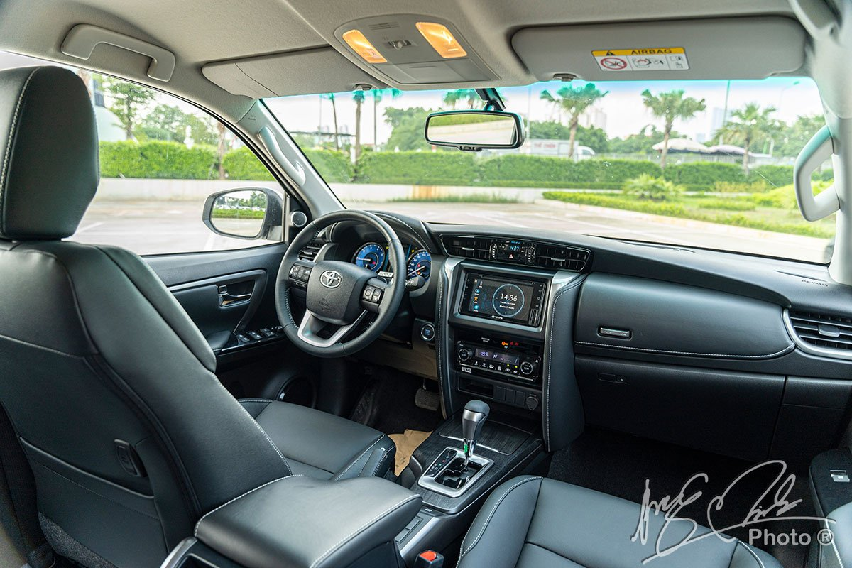 Tầm quan sát Toyota Fortuner 2021.