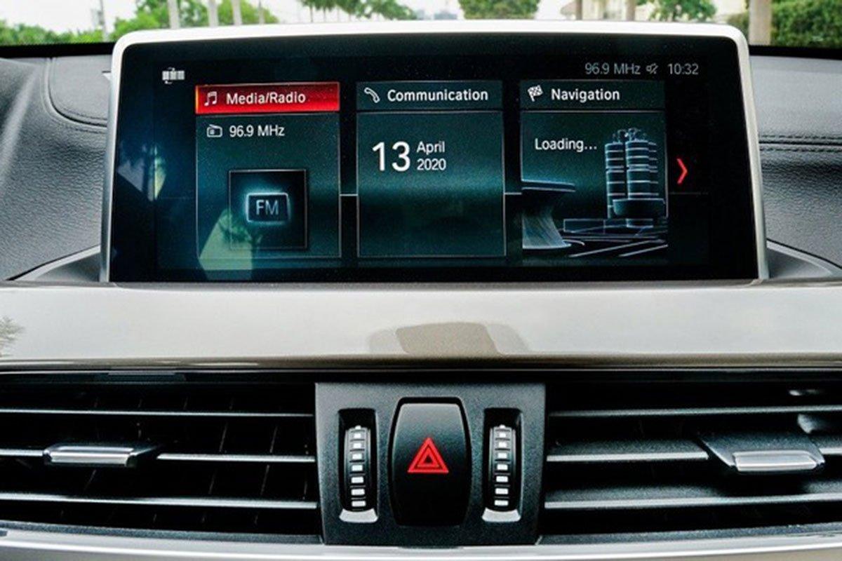 tiện ích BMW X1 2021 mới nhất.
