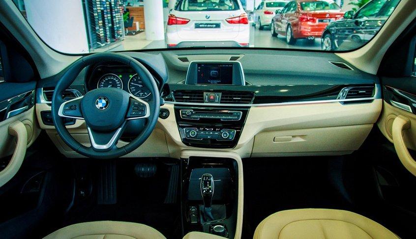 nội thất BMW X1 2021 mới nhất.