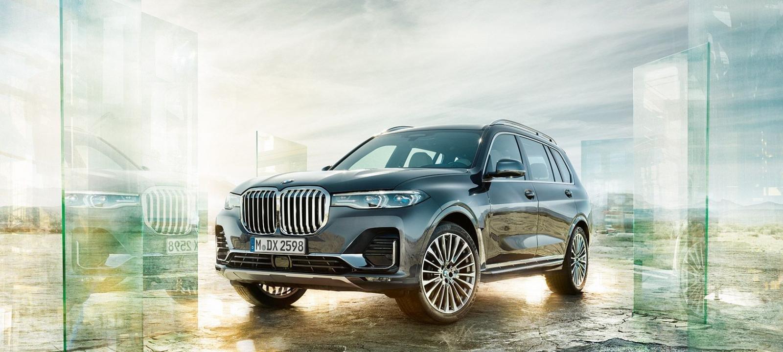 Giá xe BMW X7 2021.