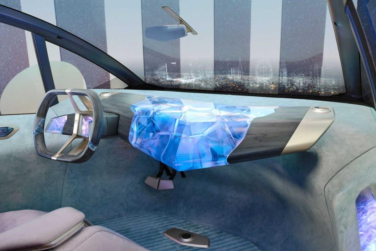 BMW i Vision Cirular bảng điều khiển 1