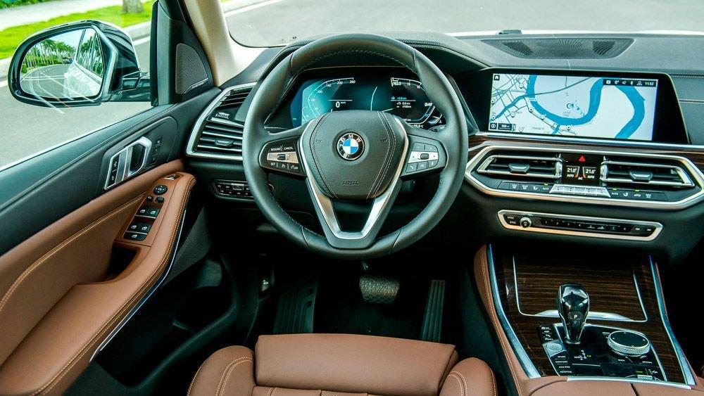 nội thất BMW X5.