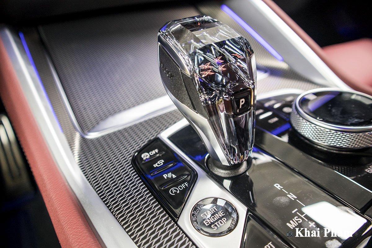 cần số xe BMW X6.