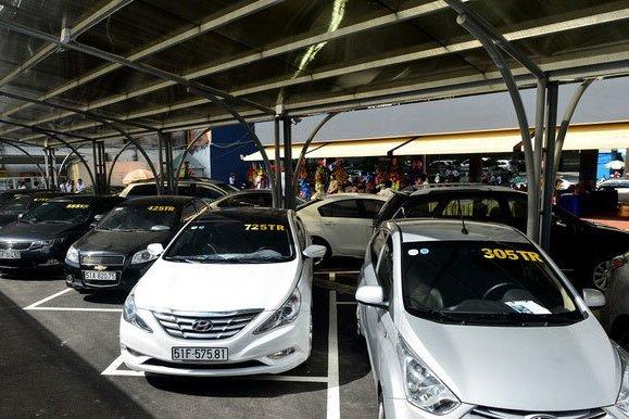 Nhiều chiếc xe phổ thông hình thức còn mới, giá chỉ hơn 100 triệu 1