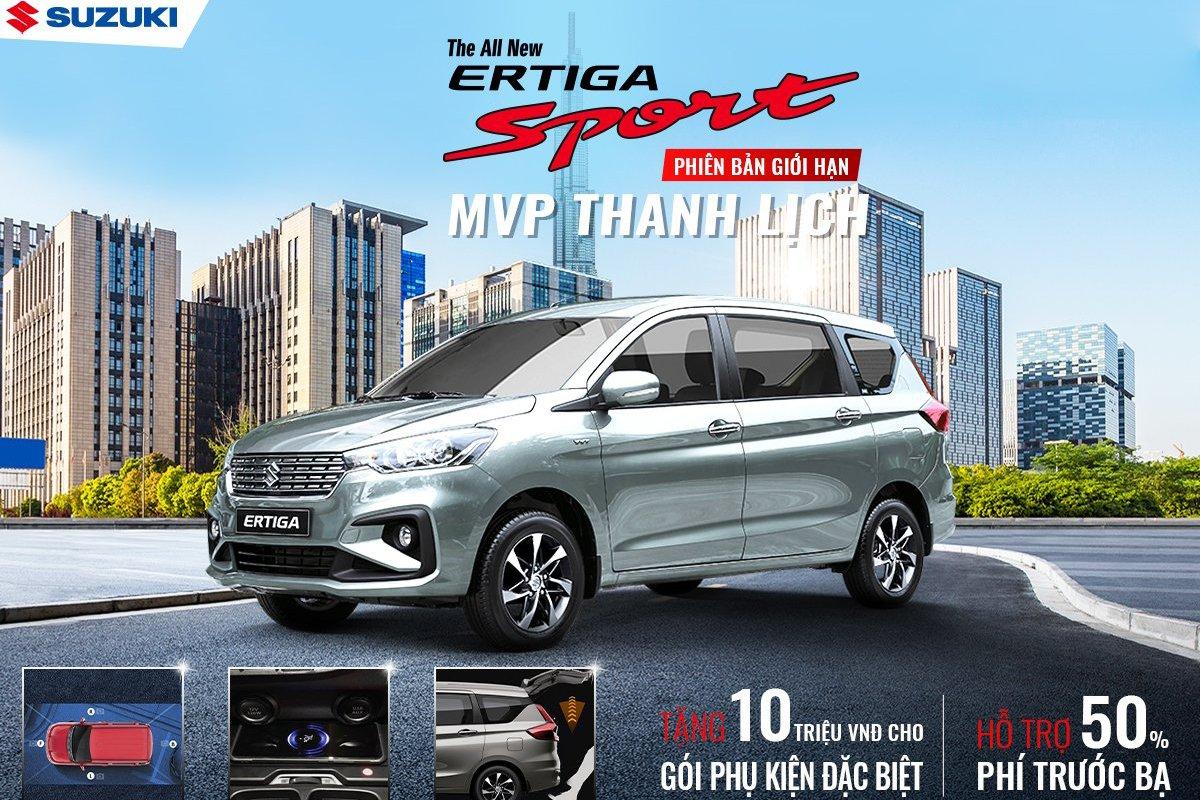 Suzuki tung siêu ưu đãi tháng 9, trình làng phiên bản giới hạn XL7, Ertiga Sport 1