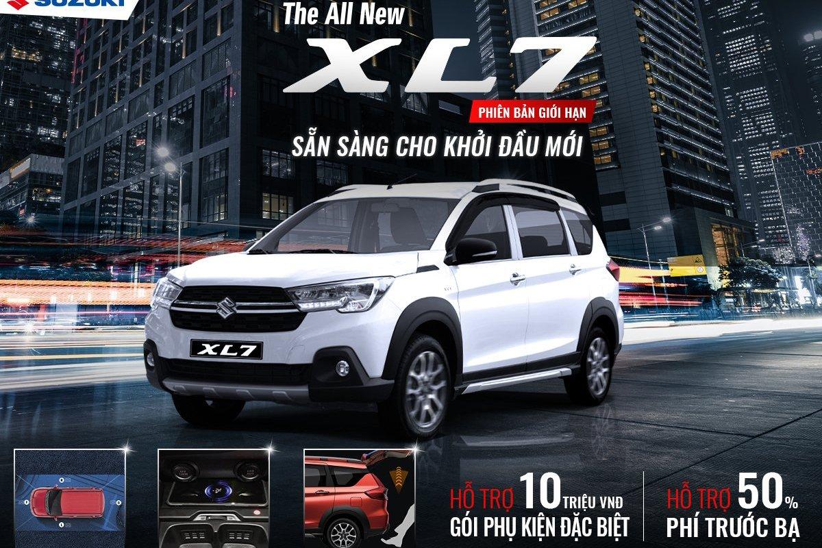Suzuki XL7phiên bản giới hạn là lựa chọn lý tưởng cho những ai đang tìm kiếm một chiếc xe 7 chỗ thực dụng 1