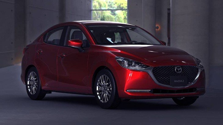 Ngoại hình Mazda 2 mới thể thao, trẻ trung, hiện đại