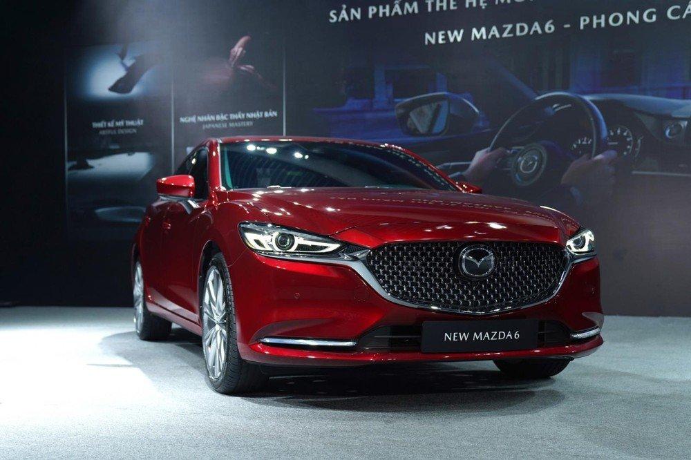Mazda 6 sở hữu phong cách lịch lãm, hiện đại.