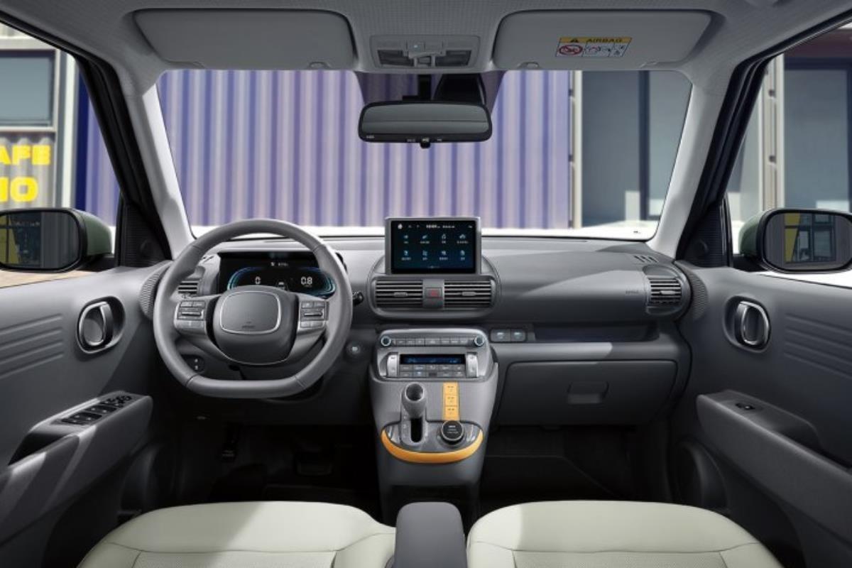 Hyundai Casper nội thất 1