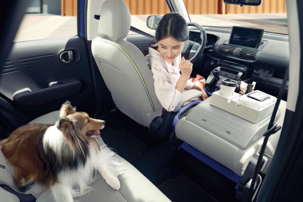 Hyundai Casper nội thất