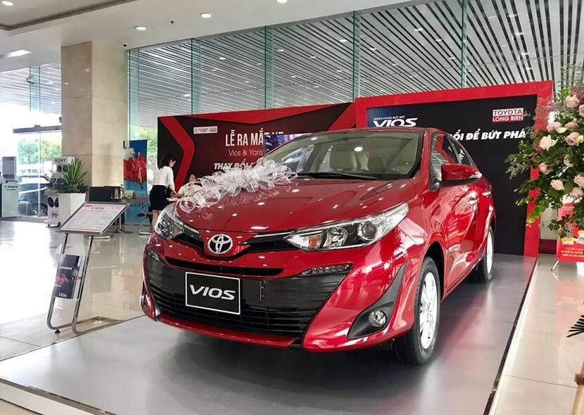 Ngoại hình Toyota Vios cũ đời 2020.