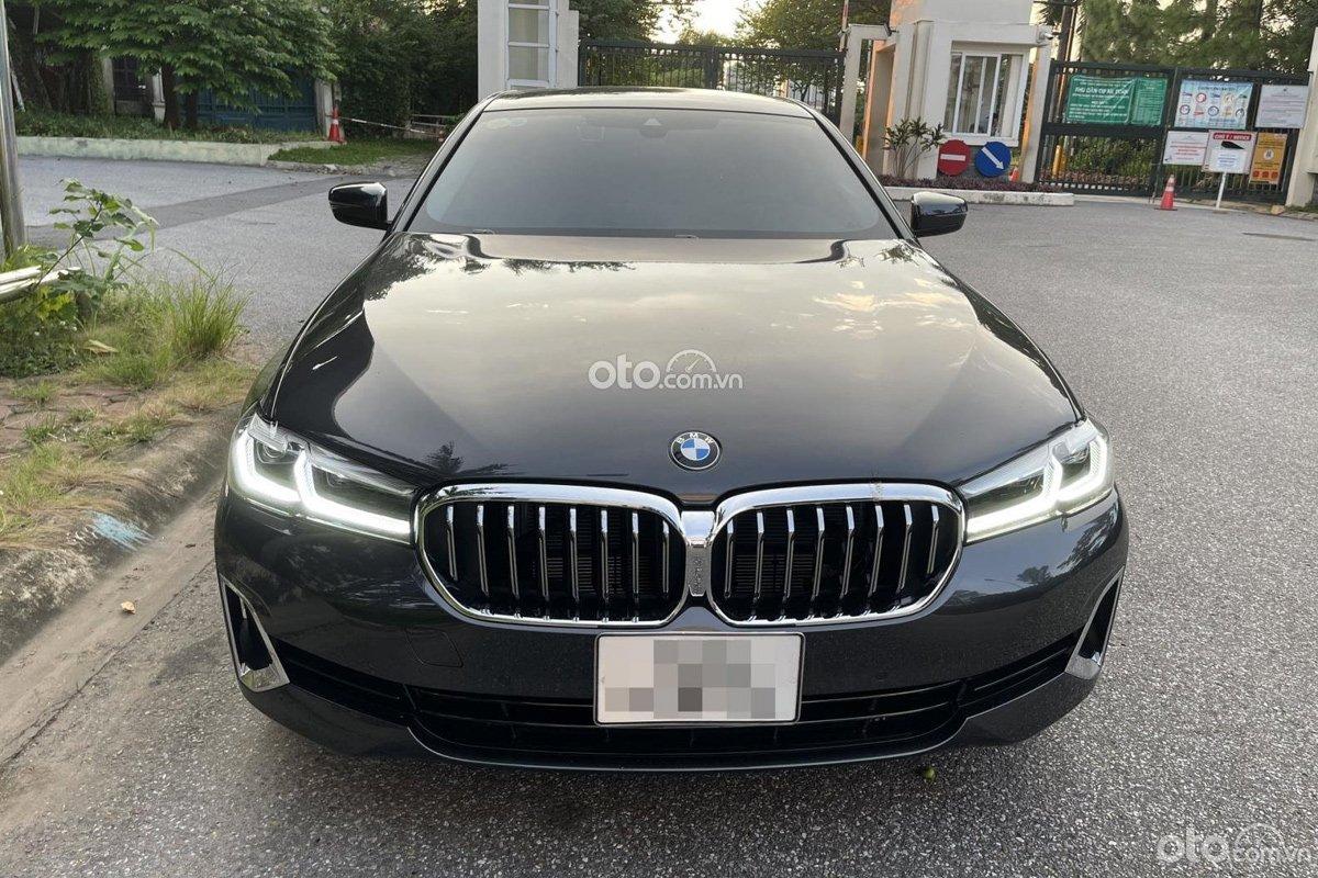 BMW 520i Luxury Line 2021 có thiết kế tươi mới