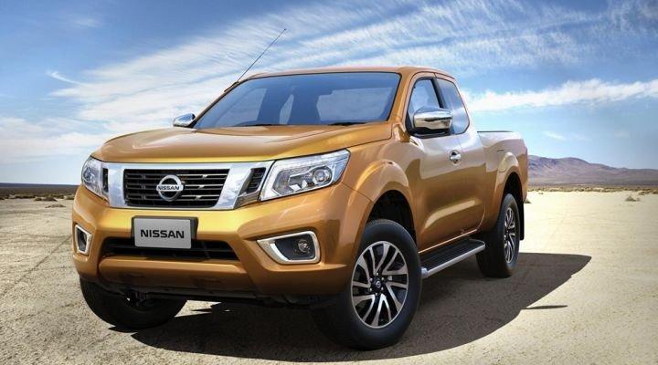 Ngoại hình xe Nissan Navara 2015.