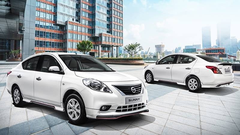Ngoại hình Nissan Sunny mới.
