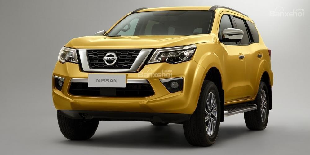 Ngoại hình xe Nissan Terra cũ đời 2018.