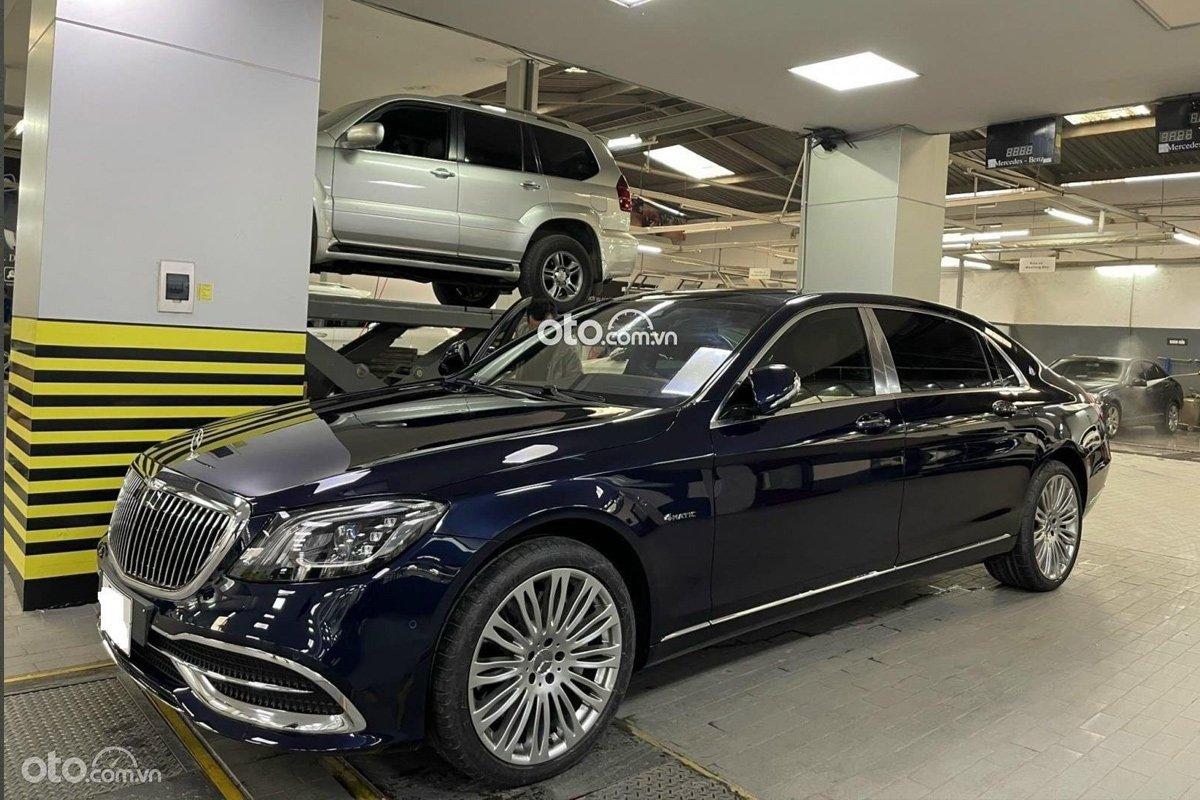 Mercedes-Benz Maybach S450 2021 lên sàn xe cũ, rẻ hơn nửa tỷ so với giá niêm yết.