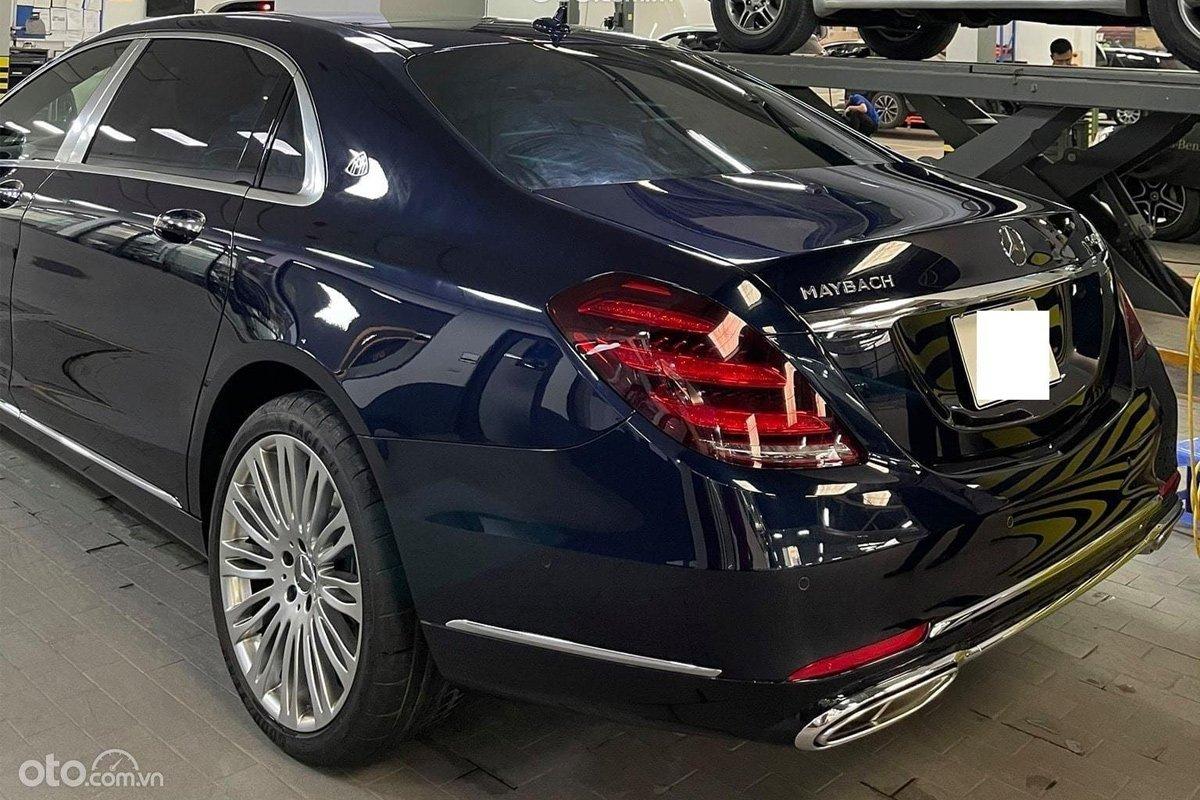 Mercedes-Maybach S450 là phiên bản thấp cấp nhất trong dòng Mercedes- Benz Maybach.