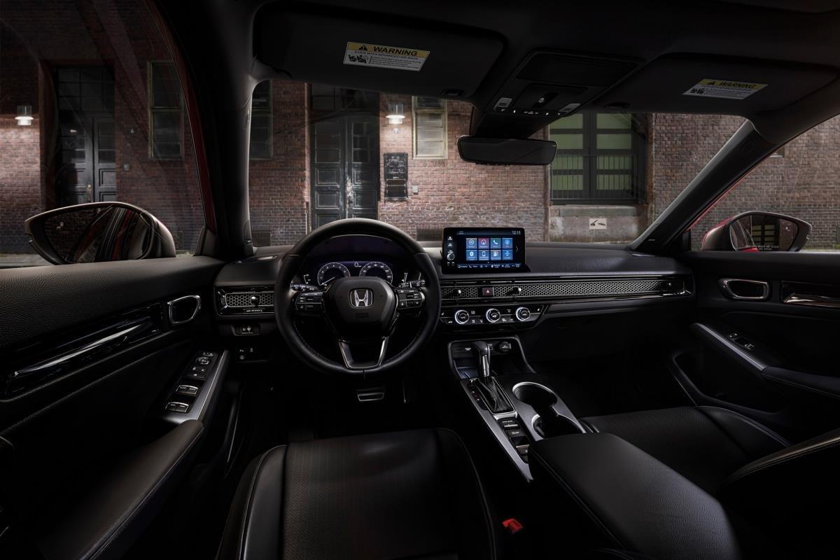 Honda Civic 2022 hatchback nội thất 1