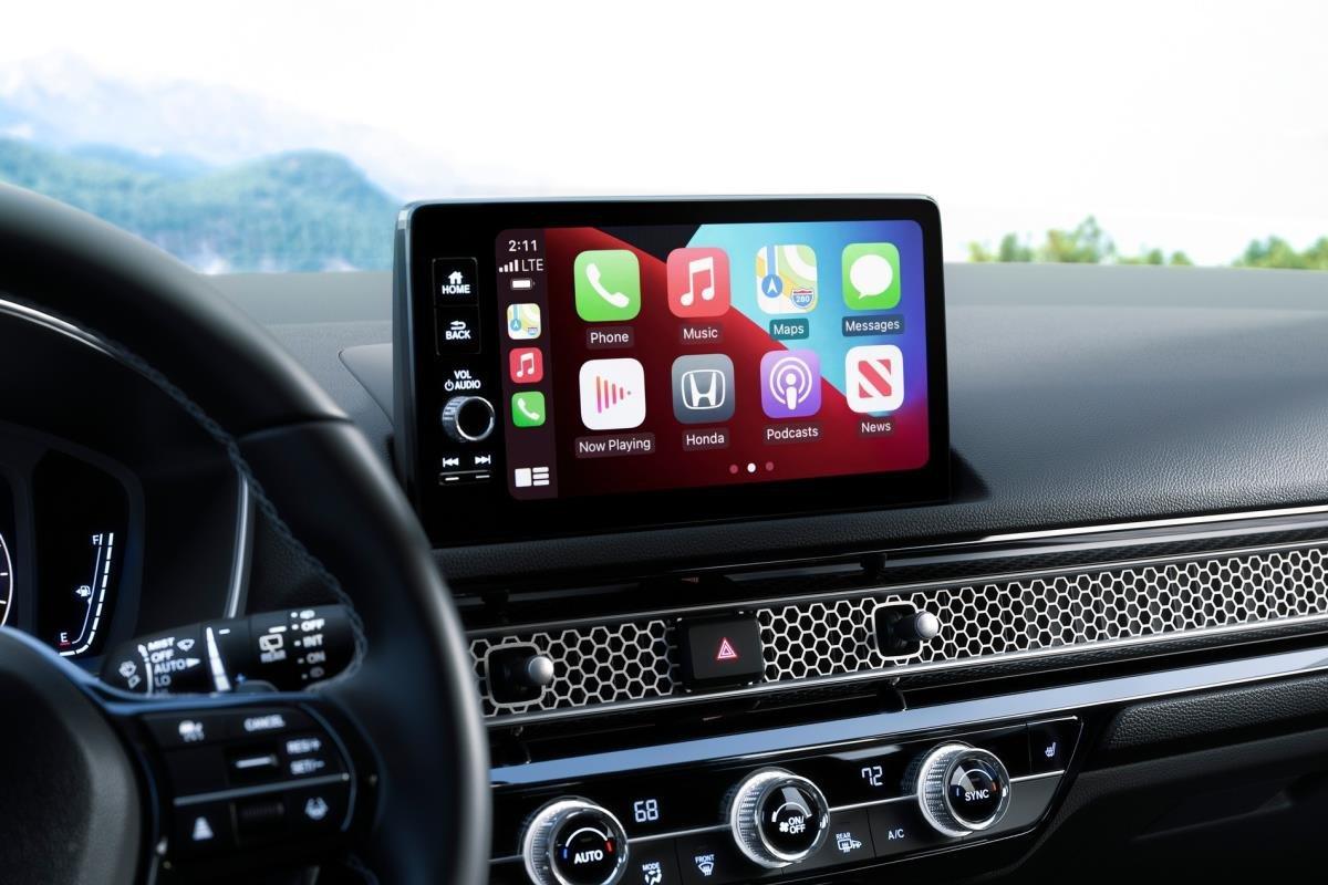 Honda Civic 2022 hatchback màn hình 1