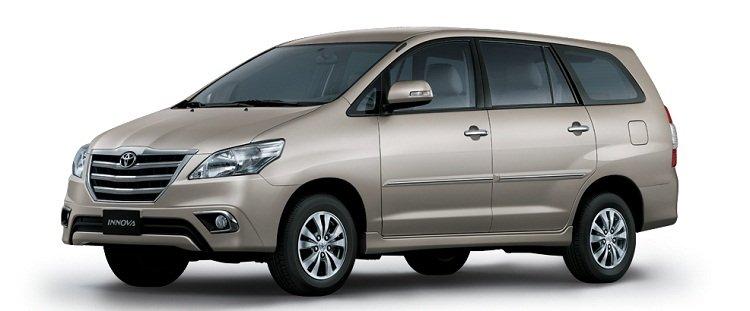 Ngoại hình Toyota Innova cũ đời 2016.