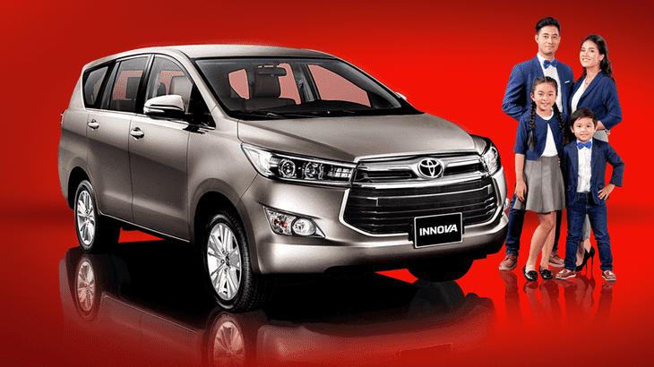 Toyota Innova sở hữu ngoại hình cứng cáp, khỏe khoắn, góc cạnh nhưng không kém phần tinh tế.