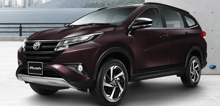 Toyota Rush sở hữu ngoại hình trung tính nhưng không kém phần mạnh mẽ, thể thao