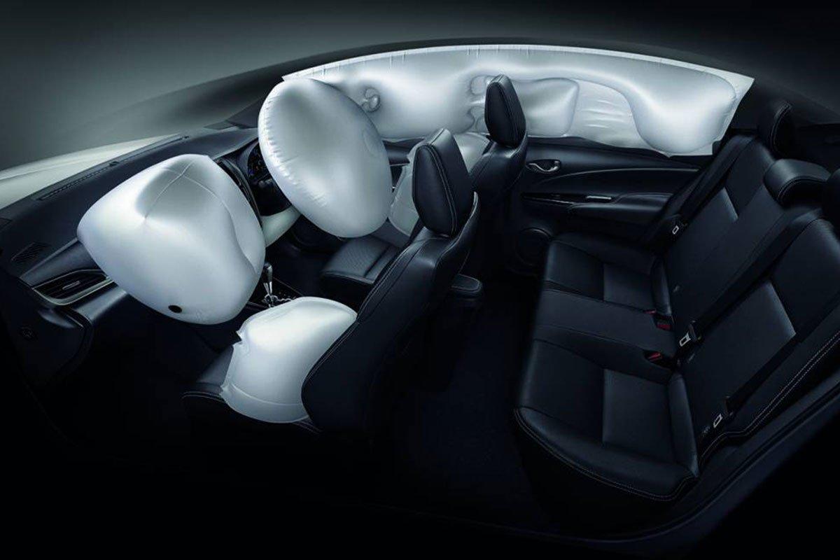 Toyota Vios 2022 túi khí 1