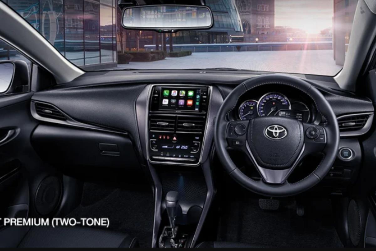 Toyota Vios 2022 bảng điều khiển