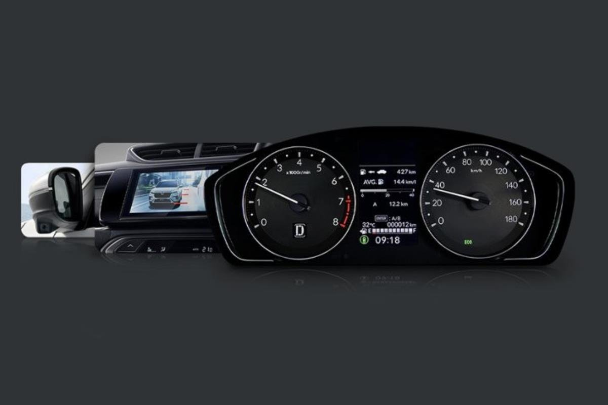 Honda BR-V 2022 cụm đồng hồ 1