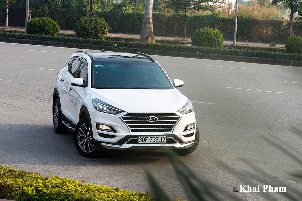 Hyundai Tucson là mẫu xe có khả năng duy trì được sức tiêu thụ ổn định