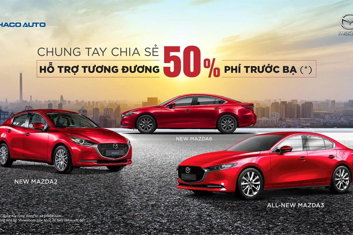 Mazda tung ưu đãi đặc biệt lên tới 120 triệu đồng cho khách mua xe 1