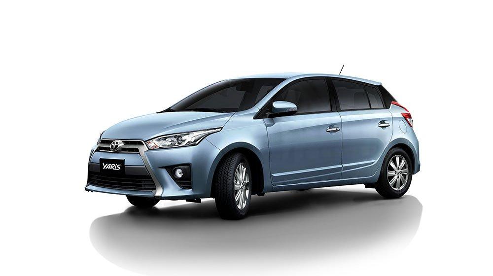 Ngoại hình Toyota Yaris cũ đời 2016.