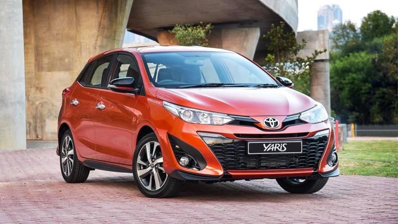 Ngoại hình Toyota Yaris cũ đời 2018.