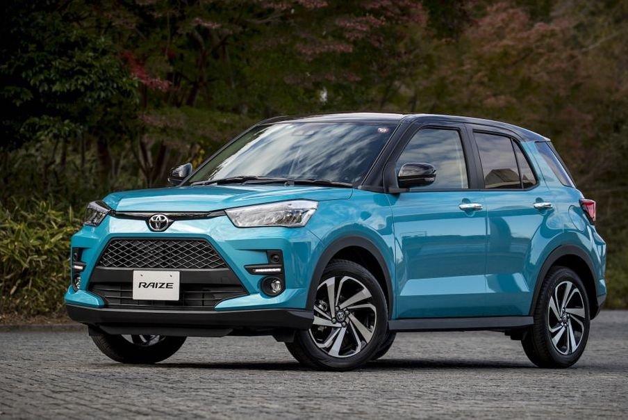Giá xe Toyota Raize 2021 mới nhất.