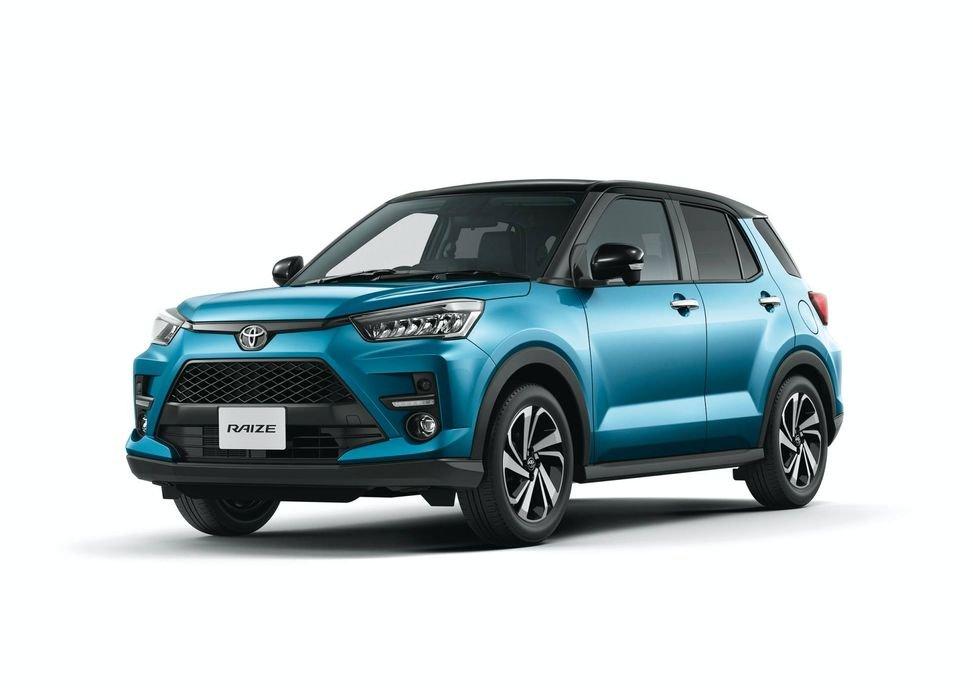 Động cơ xe Toyota Raize 2021.