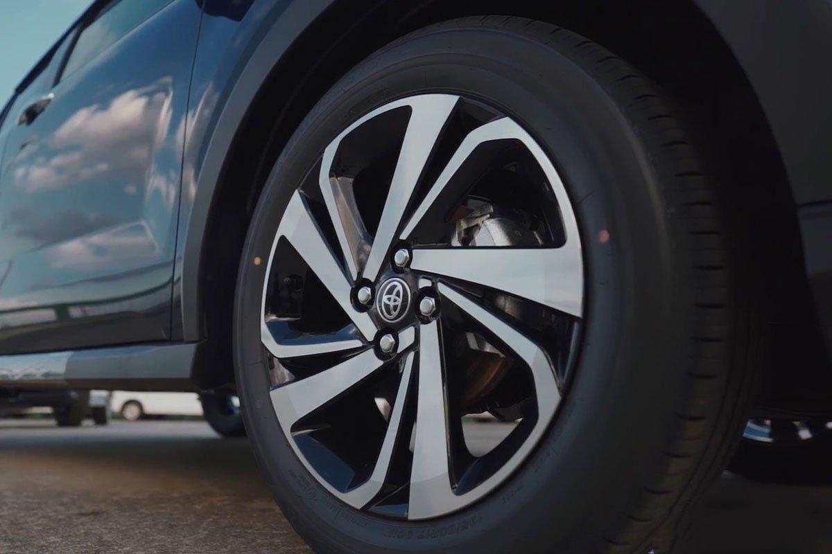 la-zăng xe Toyota Raize 2021.