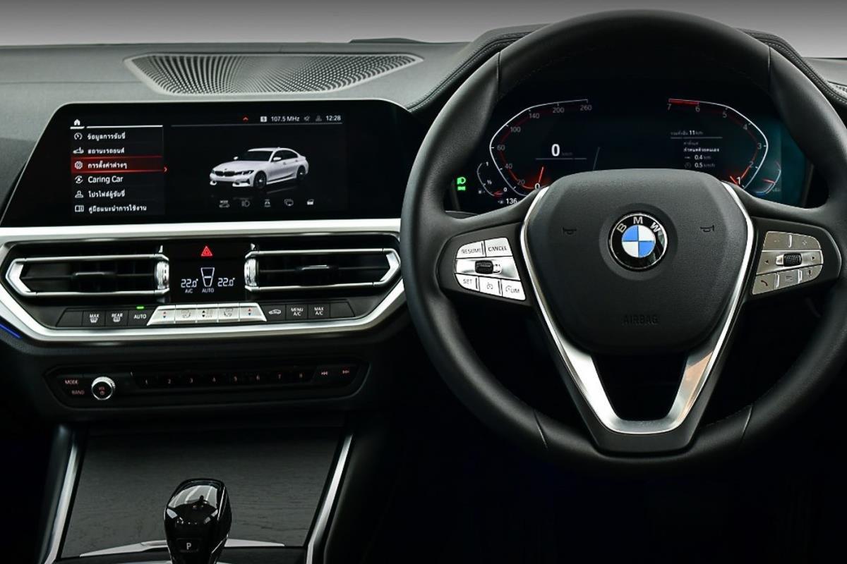 BMW 320Li Luxury bảng điều khiển 1
