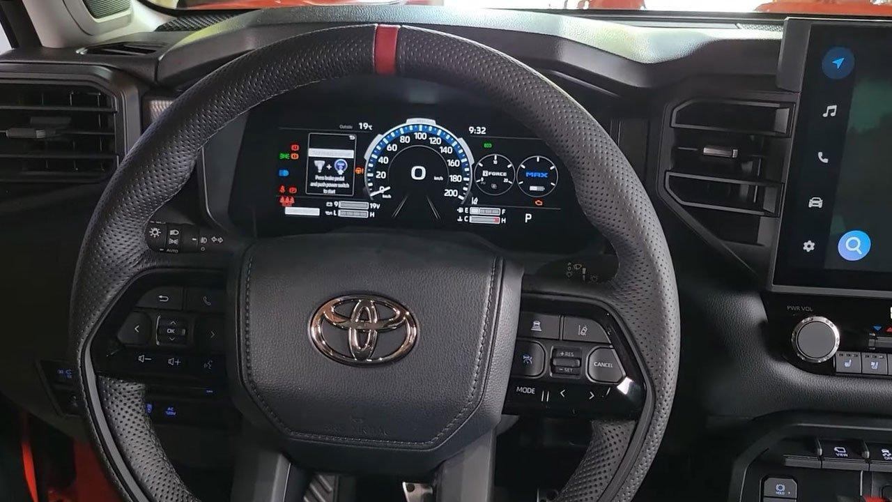 Ảnh thực tế Toyota Tundra 2022 vừa ra mắt, nội thất đẹp xuất sắc A9