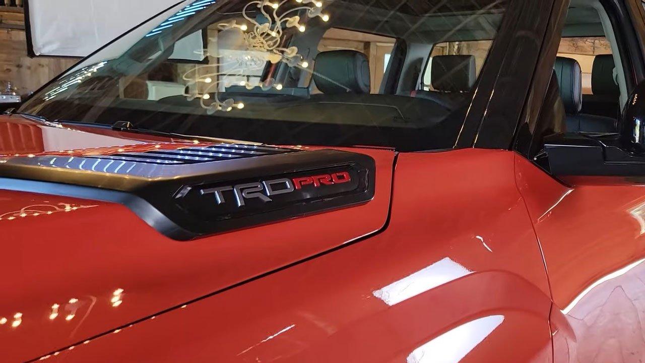 Ảnh thực tế Toyota Tundra 2022 vừa ra mắt, nội thất đẹp xuất sắc A5