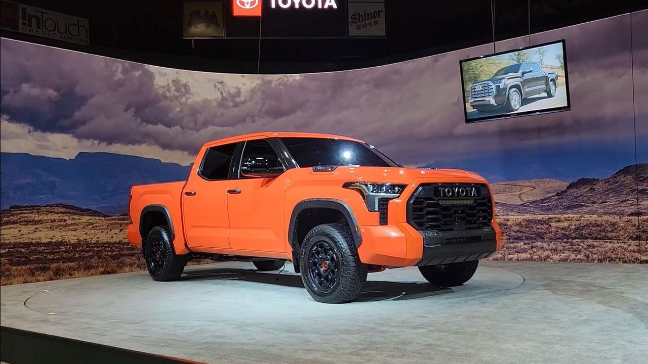 Ảnh thực tế Toyota Tundra 2022 vừa ra mắt, nội thất đẹp xuất sắc A6