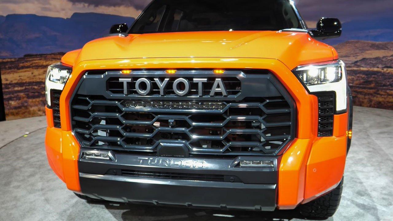 Ảnh thực tế Toyota Tundra 2022 vừa ra mắt, nội thất đẹp xuất sắc A2