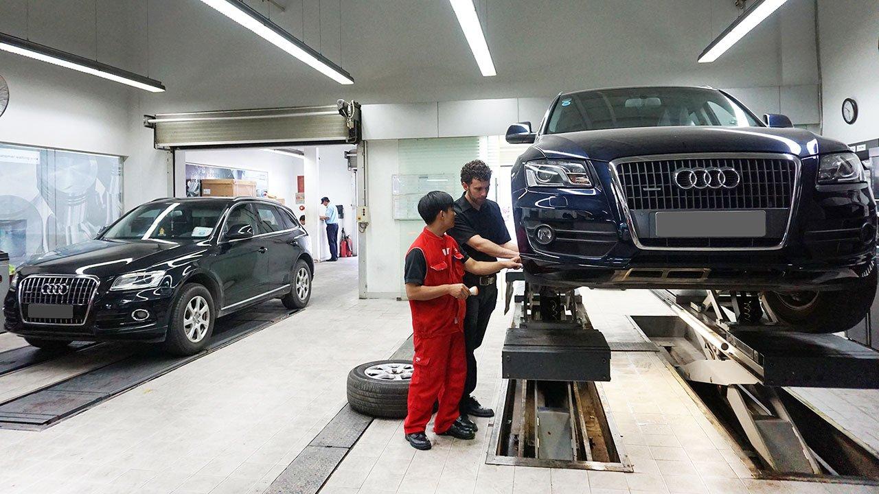 Audi Việt Nam gia hạn bảo hành thêm 3 tháng.