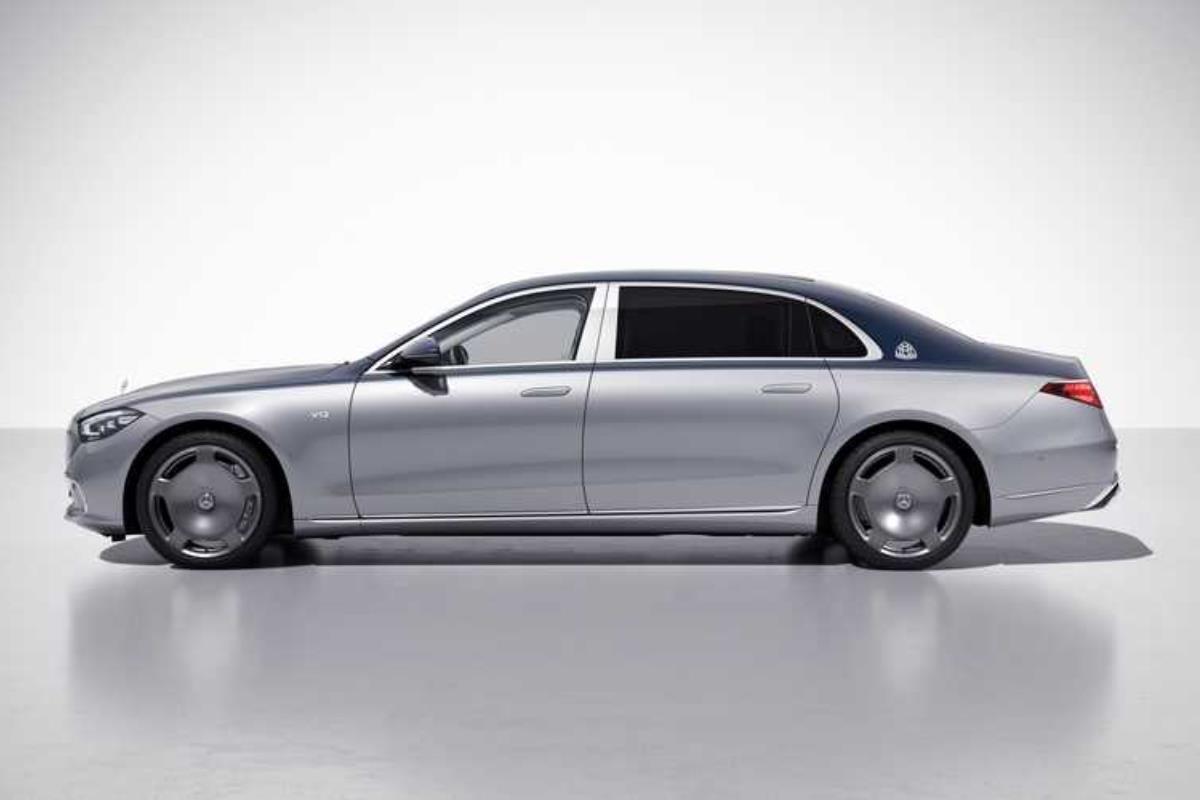 Mercedes-Maybach S-Class Edition 100 thân xe 1