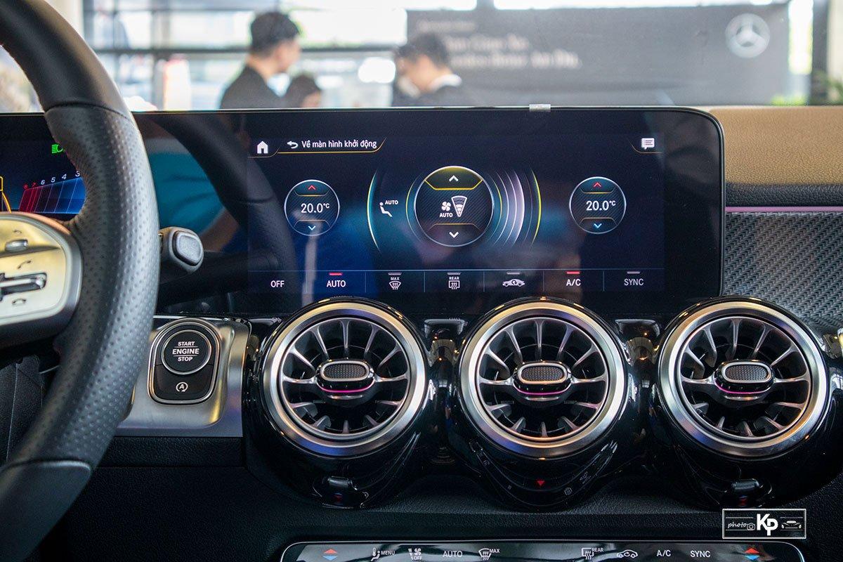 Ảnh Màn hình xe Mercedes-Benz GLB 35 2021