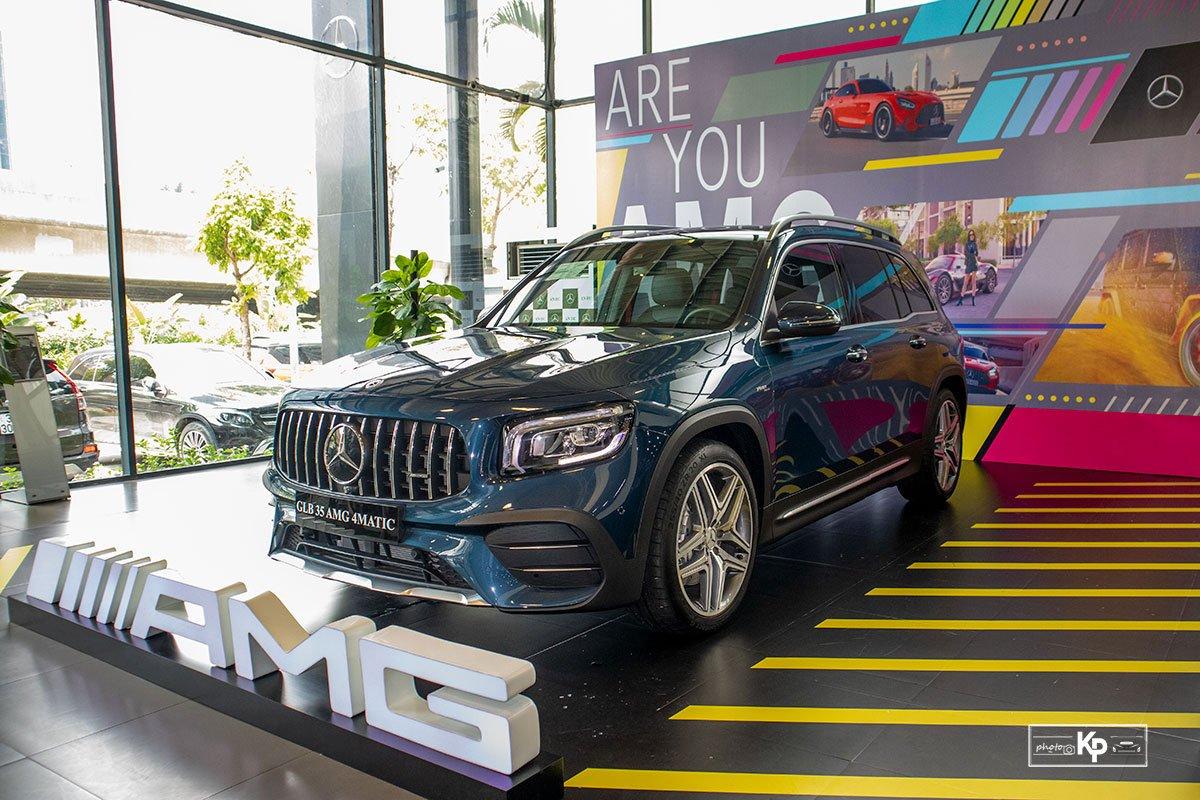 Ảnh Tổng quát xe Mercedes-Benz GLB 35 2021 a