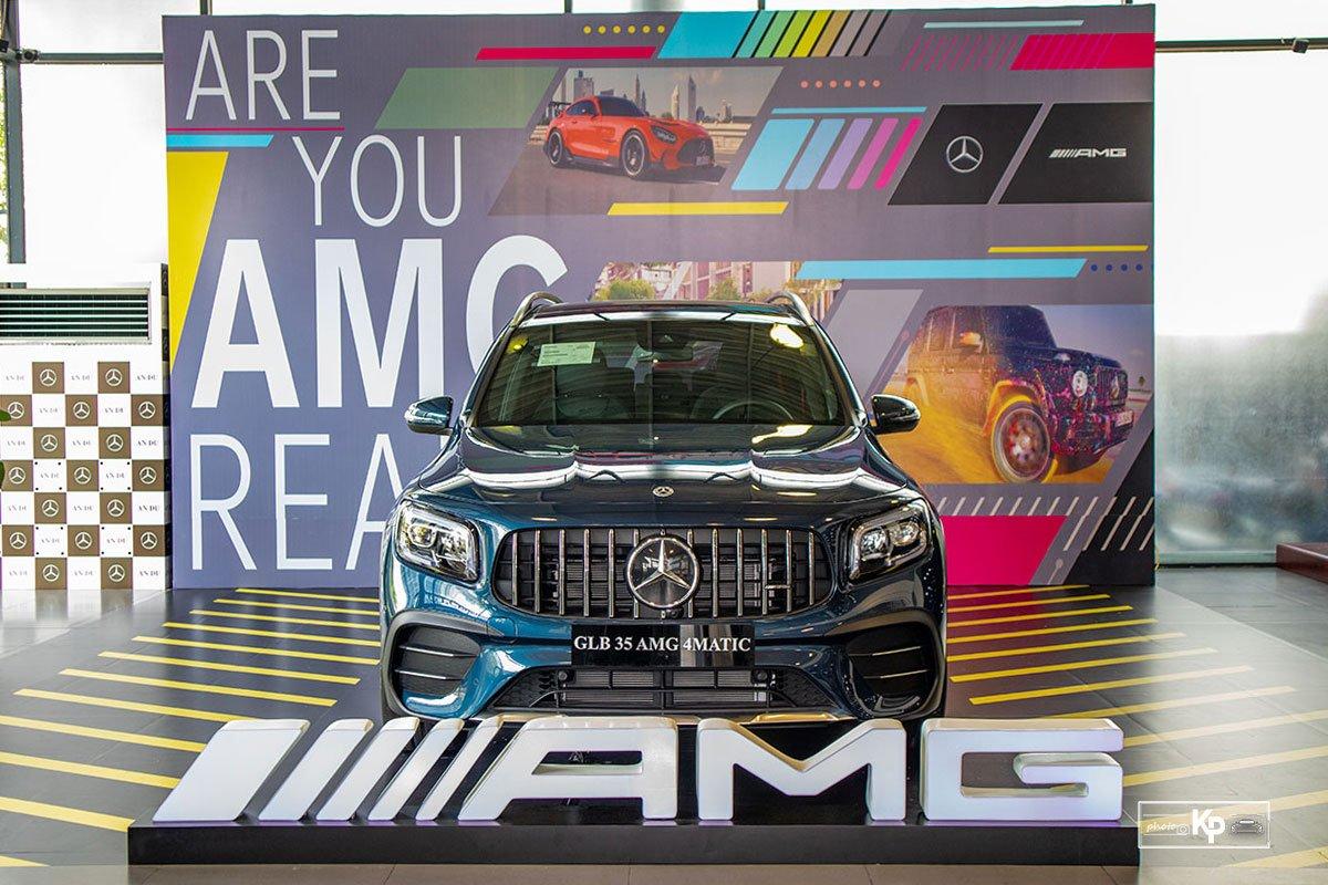 Ảnh Đầu xe xe Mercedes-Benz GLB 35 2021