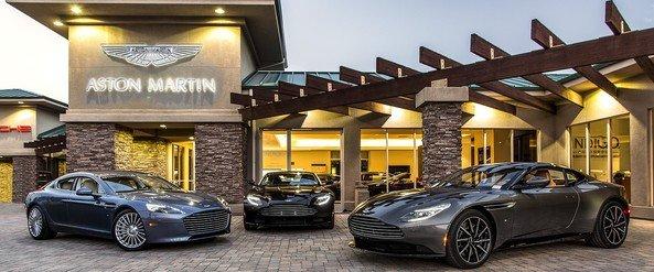Showroom Aston Martin chính hãng tại Việt Nam.